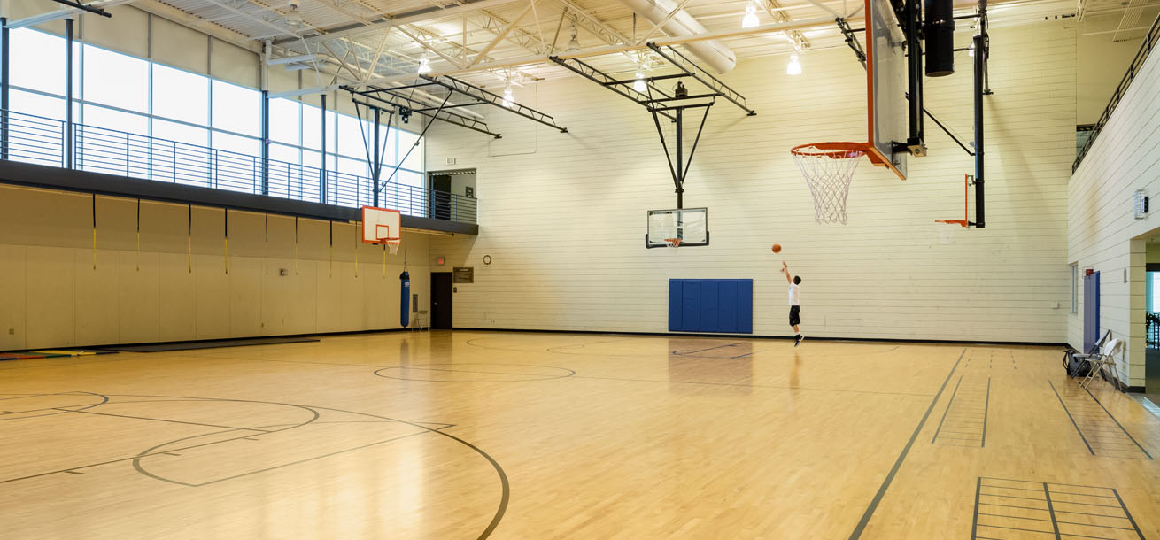 Basketball Court | Indoor Basketball Court | Bethany Athletic Club